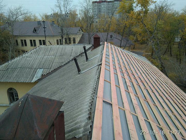 Ремонт мягкой кровли крыши в самаре